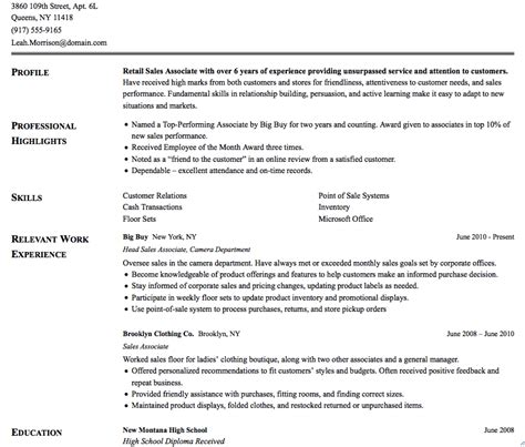 traditional resume example model resume download free