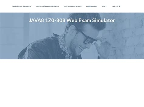 [click]oracle Java 1z0-808 Web Exam Simulator - Infot3chpro Com.