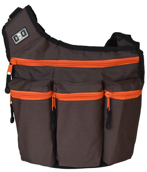Orange Diaper Bags