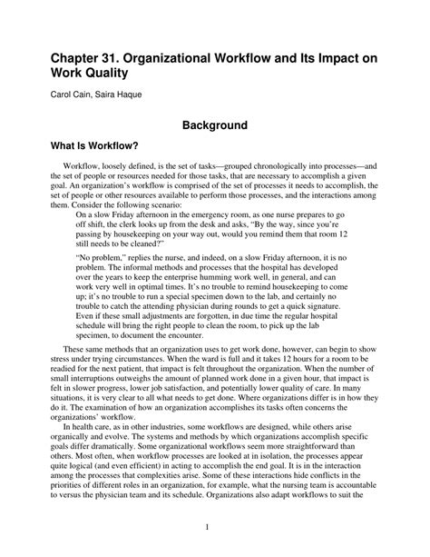 [click]organizational Workflow And Its Impact On Work Quality .