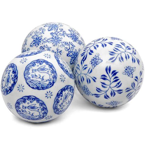 Oriental Furniture Blue Amp White Landscape Porcelain .