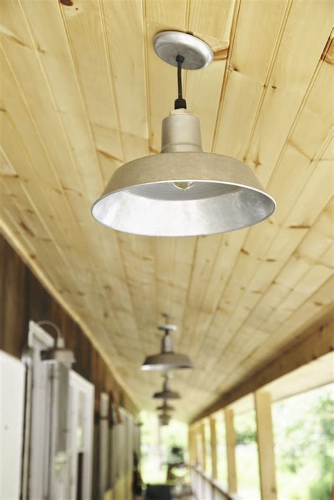 Original  Warehouse Pendant Light  Barn Light Electric.