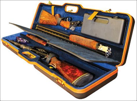 Orvis Green Comes To Negrini Hard Shotgun Cases.