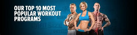 [click]our Top 10 Most Popular Workout Programs.