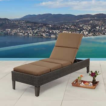 Outdoor Patio Chaise Lounges  Daybeds  Costco.