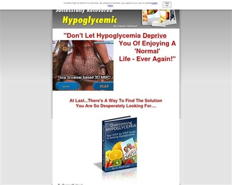 [click]overcoming Hypoglycemia - Ebook Guide.