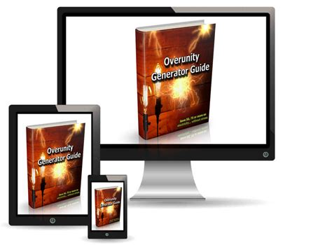 @ Overunity Generator Guide Affiliate Area.