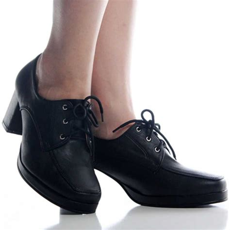 Oxford Shoes Women's Black Dress