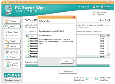 [click]pc Tuneup Maestro - Registry Cleaning And Tune-Up.