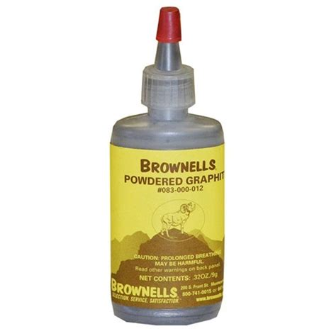 Powdered Graphite 32 Oz Powdered Graphite - Brownells .