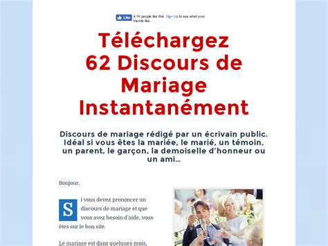 Pack De Discours De Mariage + Conversion Top - Video Dailymotion.