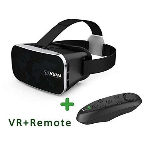 Padraig Vr Remote 3d Vr Glasses Virtual Reality Headset Bluetooth.