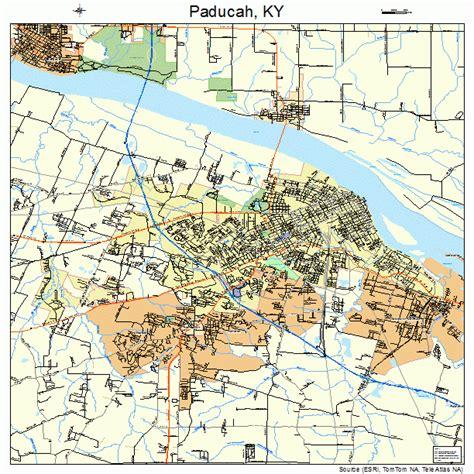 Paducah KY Map