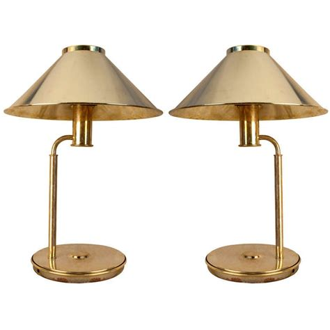 Pair Of Nautical Antique Brass Table Lamps At 1stdibs.