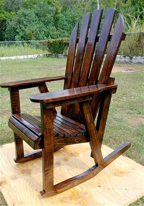 Pallet Rocking Chair Plans