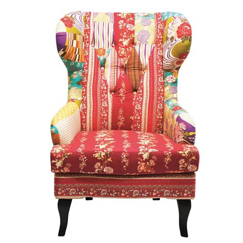 Patchwork Armchair Fabric Upholstery  Up To 70 Off.