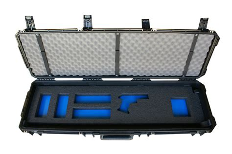 Patriot Cases Ultimate 3 Gun Storage Travel Case.
