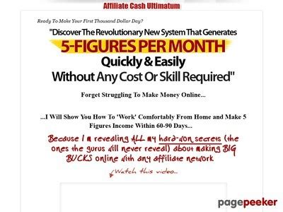 [click]paul Walker S Affiliate Cash Ultimatum - My Click Products.