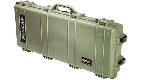 Pelican 1700 Watertight Protector Rifle Cases W Wheels .