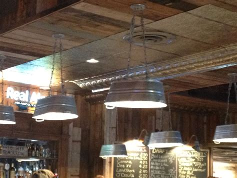 Pendant Lights Out Of Galvanized Water Troughs  Cabin .
