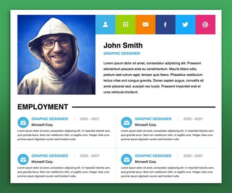 personal website resume examples personal website resume - Personal Website Resume Examples