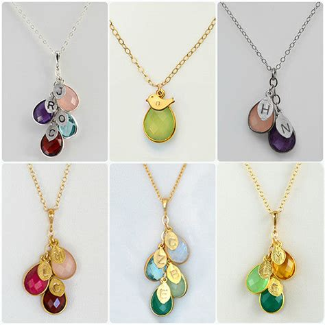 Personalized Jewelry - Initials, Birthstones & Zodiac - Alex And.