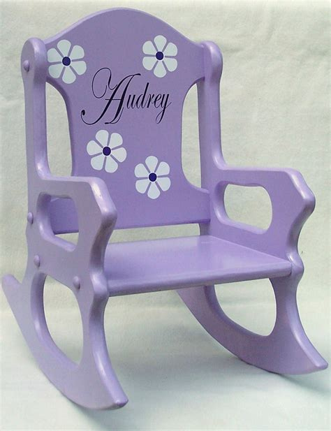 Personalized Rocking Chair For Child