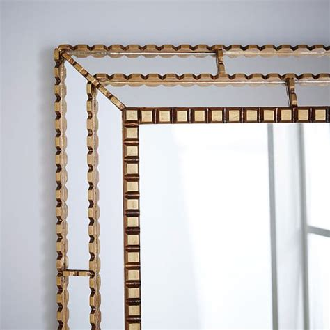 Peruvian Artisan Mirror - Large Rectangle Westelm  Art .