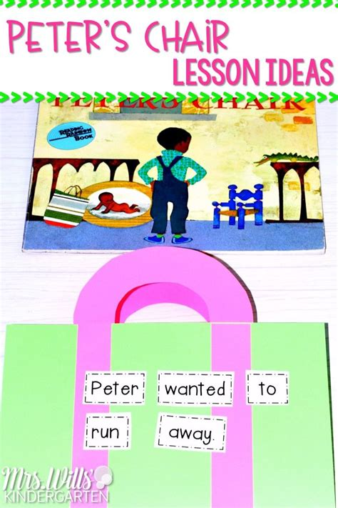Peter'S Chair Lesson Plans Kindergarten