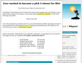 [click]pick3stats Pro - Superior Pick 3 Lottery Software Download .