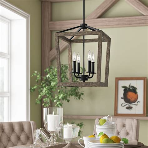 Piedmont 4-Light Lantern  Mudroom  Hanging Light .