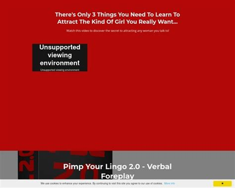 Pimp Your Lingo 2.0 - The Art Of Verbal Foreplay - Cbengine.