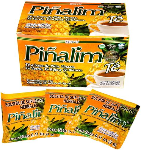@ Pinalim Tea Te De Pinalim Mexican Version- Pineapple Flax .