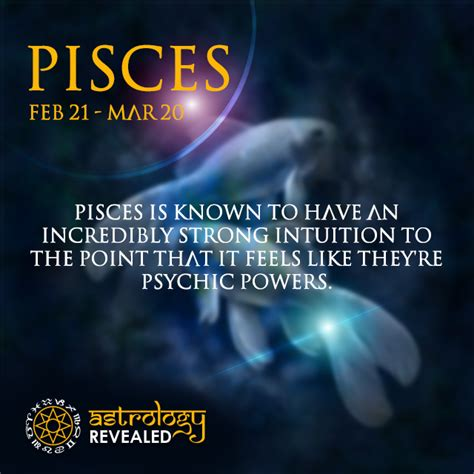Pisces Psychic Abilities.