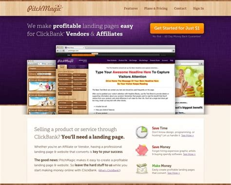 Pitchmagic: Landing Pages Made Easy For Cb - Mywebsitestore.