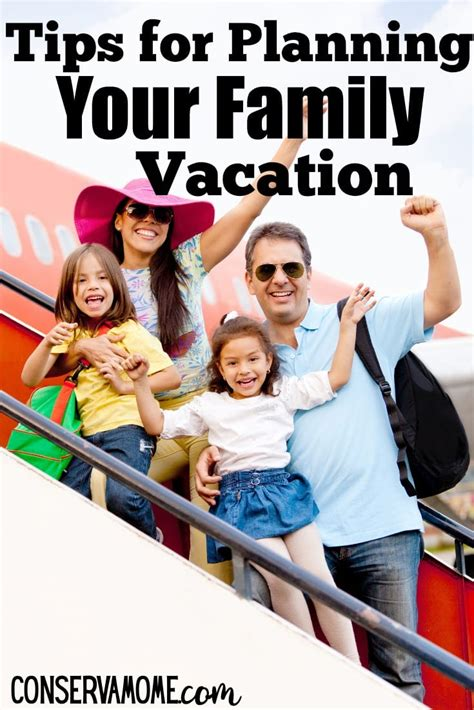 Planning Your Family Vacation