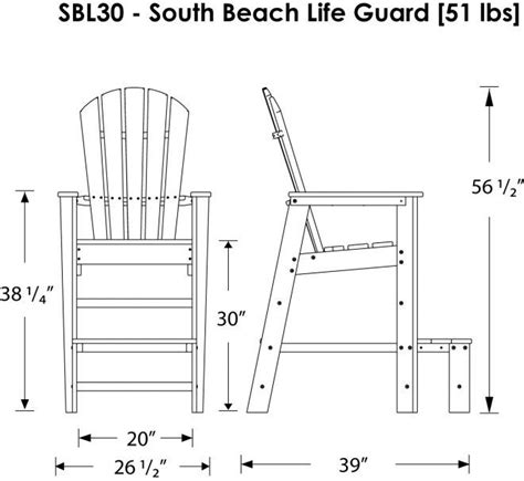 Plans To Build A Life Guard Chair