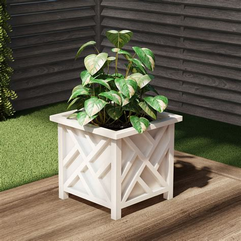 Plant Pot Holder Planter Container Box By Pure Garden .