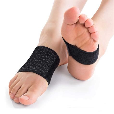 Plantar Fasciitis Brace Arch Supports - Arch Brace For Foot & Heel.