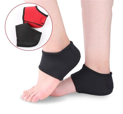[click]plantar Fasciitis Therapy Wrap Heel Foot Pain Arch Support .