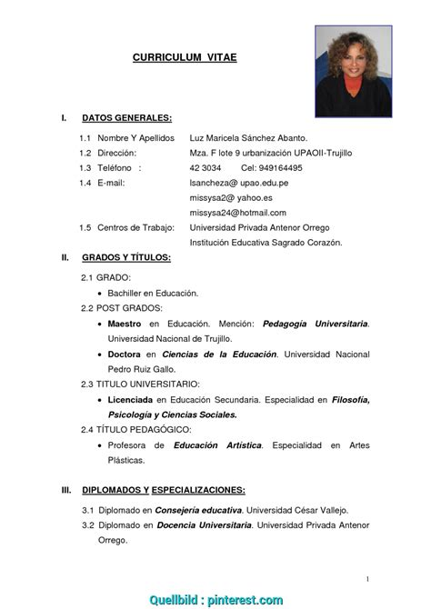 sheet metal workers resume plantilla curriculum vitae no documentado