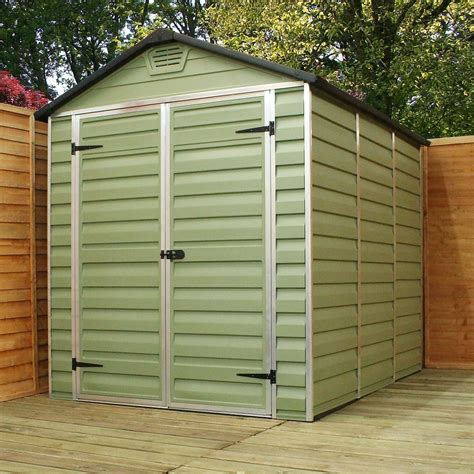 Plastic Shed 6 X 8