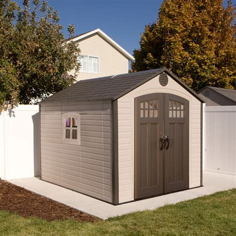 Plastic Storage Sheds Lowes