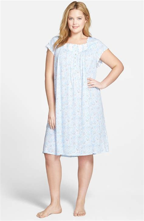 Plus Size Eileen West Nightgowns