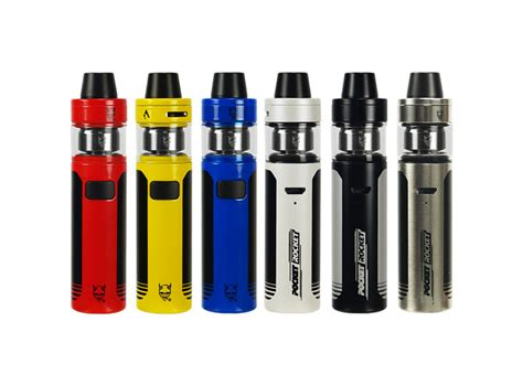 [click]pocket Rocket E-Cig Kit.