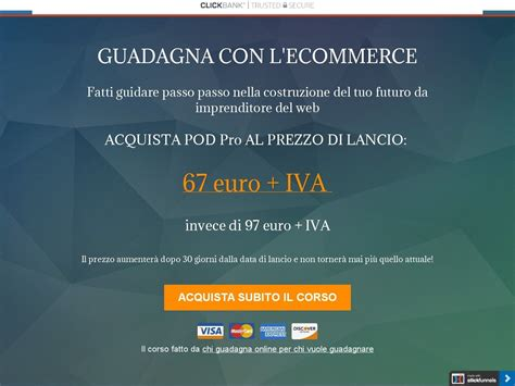 [click]pod Pro - Guadagna Con Il Print On Demand.