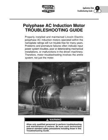 [pdf] Polyphase Ac Induction Motor Troubleshooting Guide.