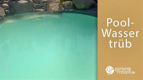 Poolwasser Trotz Guten Werten Trüb! (Haushalt, Garten)