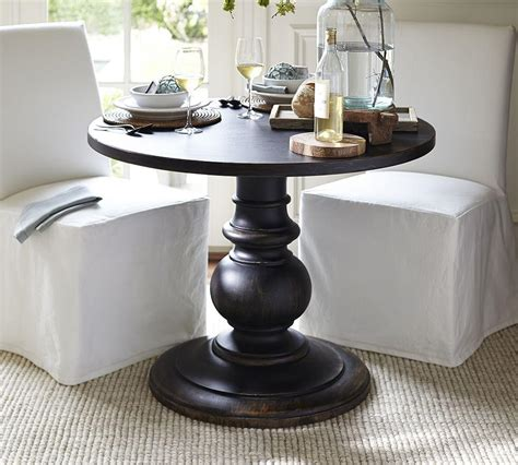 Pottery Barn Pedestal Side Table