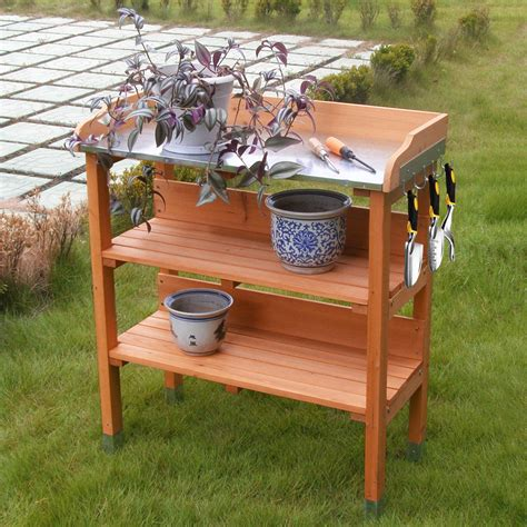 Potting Benches Wooden